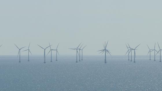 Ocean wind farm