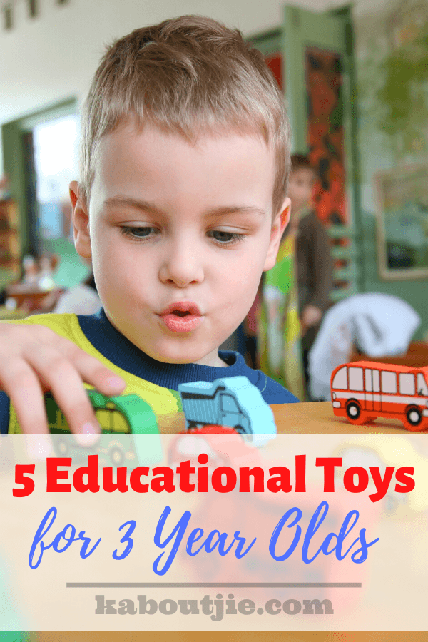 5 Educational Toys For 3 Year Olds