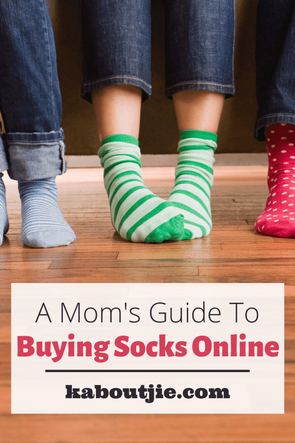 A Mom's Guide To Buying Socks Online