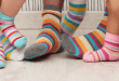 Family Wearing socks