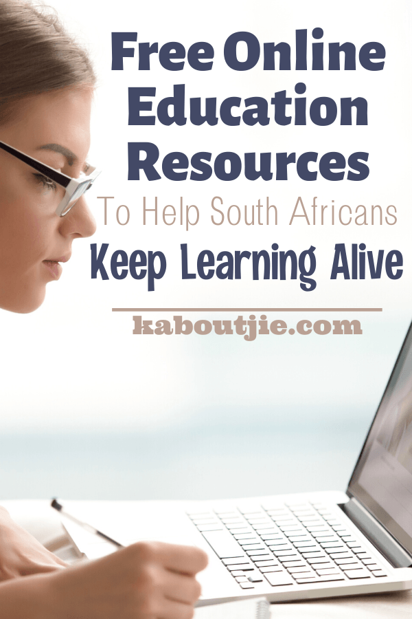 Free Online Education Resources To Help South Africans Keep Learning Alive
