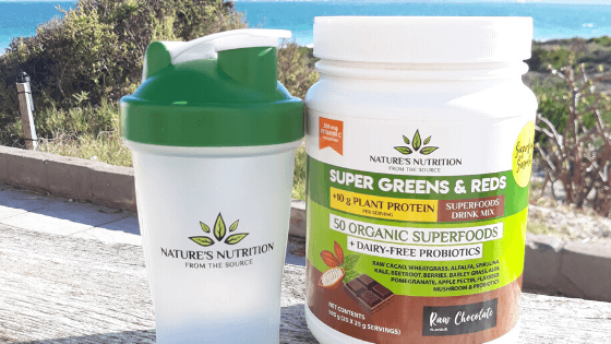 Nature's Nutrition Raw Chocolate Superfood Powder