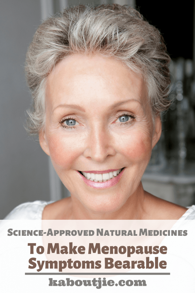 Science-Approved Natural Medicines To Make Menopause Symptoms Bearable