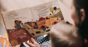 Reading Book to child