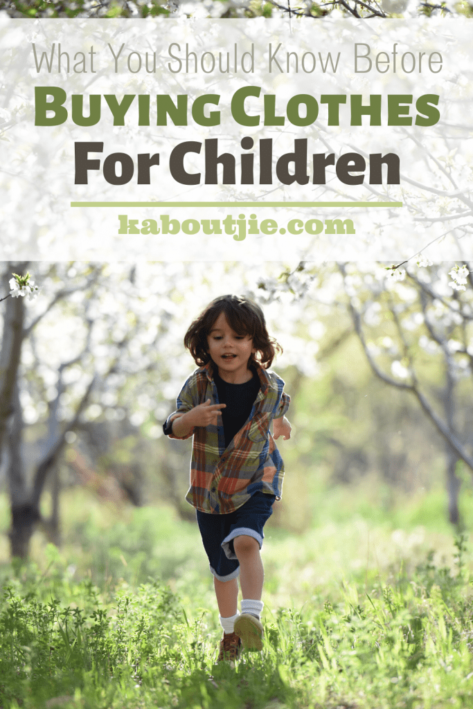 What You Should Know Before Buying Clothes For Children