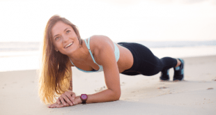 Woman exercise plank