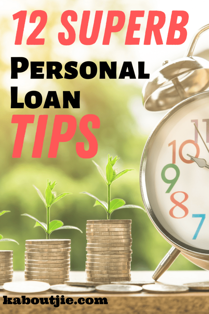 12 Superb Personal Loan TIps
