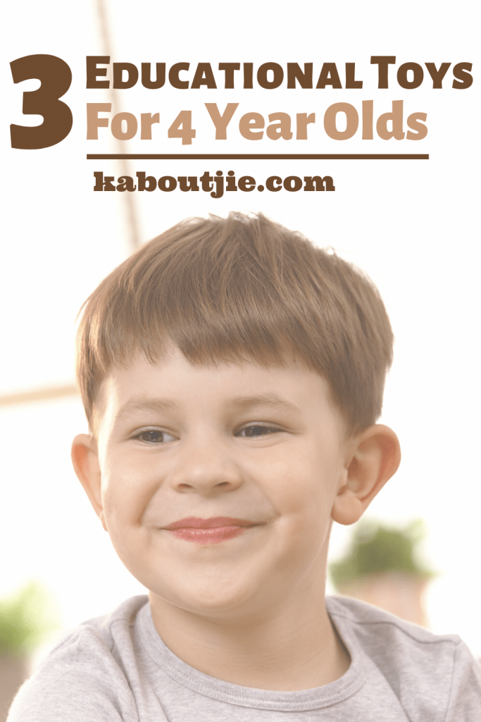 3 Educational Toys For 4 Year Olds