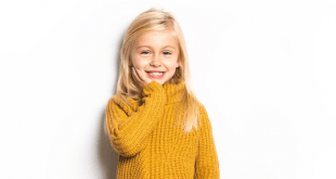 5 Year old blonde girl