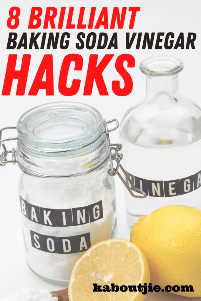 8 Brilliant Baking Soda Vinegar Hacks