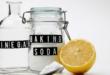 Baking Soda Vinegar Lemon