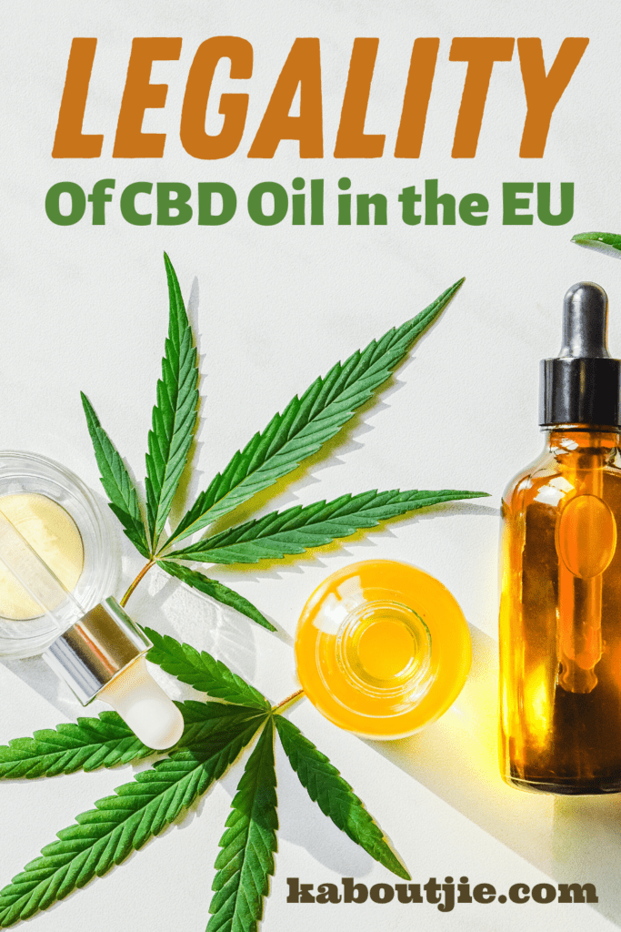 Legality of CBD oil in the EU