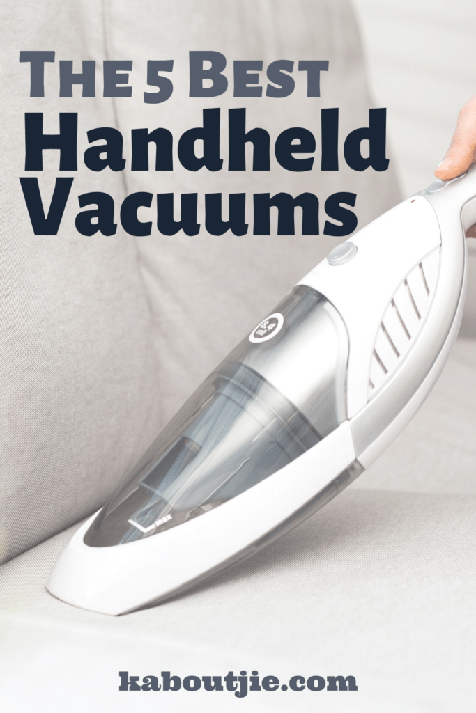 The 5 Best Handheld Vacuums