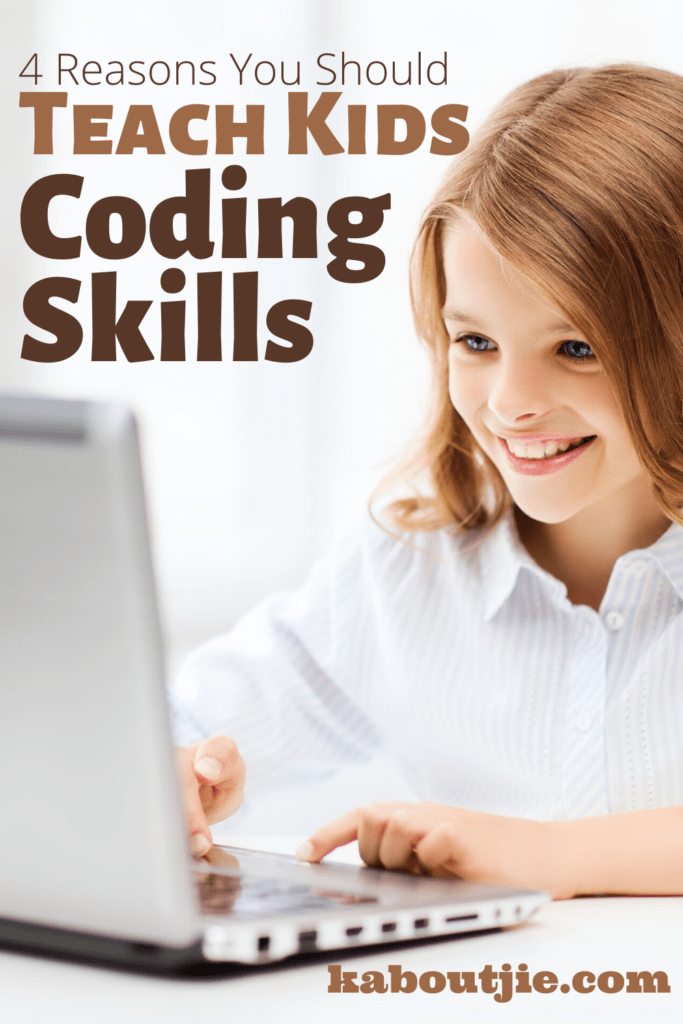 4 Reasons You Should Teach Kids Coding Skills