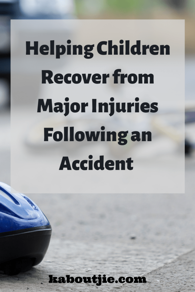 Helping Children Recover from Major Injuries Following an Accident