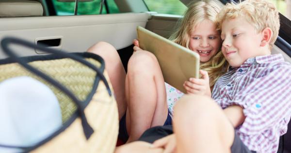 Kids travel tablet