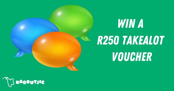 Win A Takealot Voucher