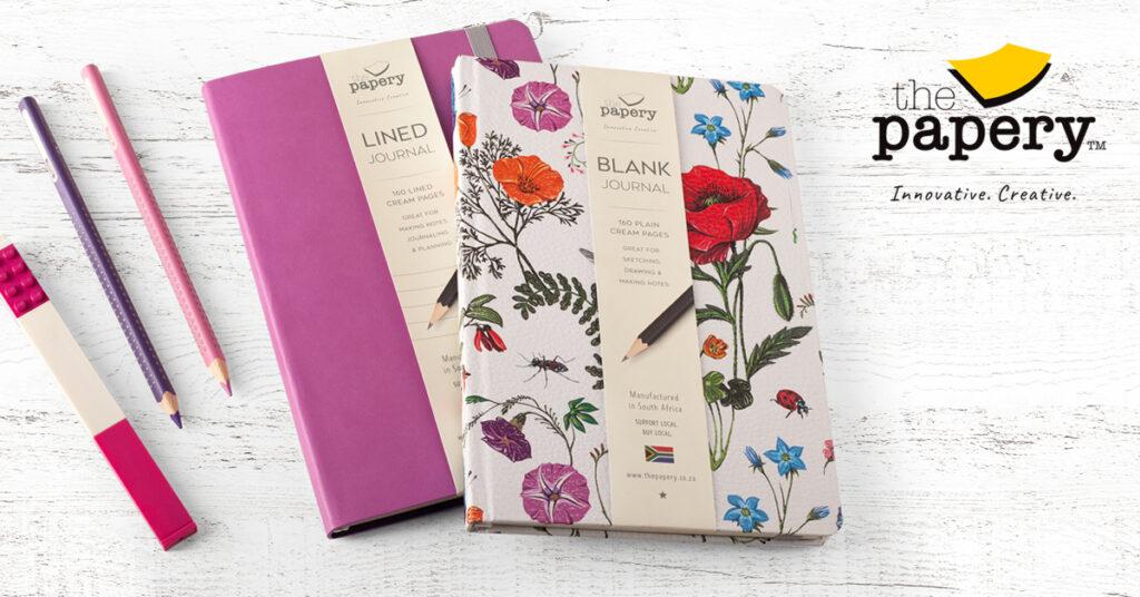 Designer floral journal
