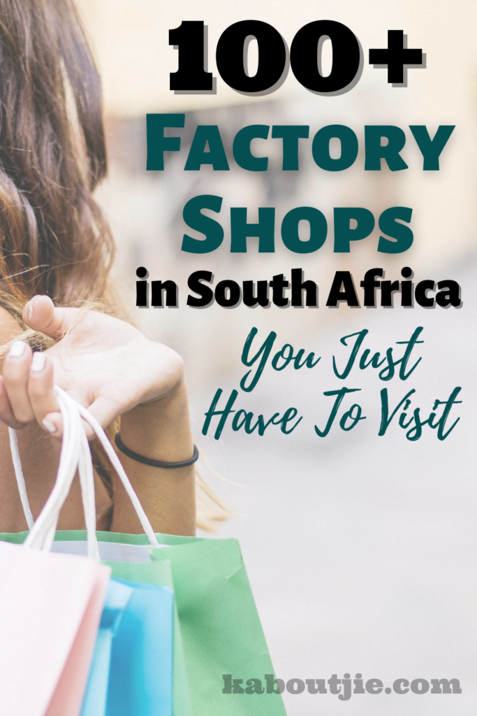 100+ Factory Shops in South Africa
