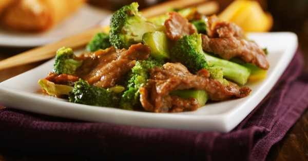 Broccoli Beef Stirfry