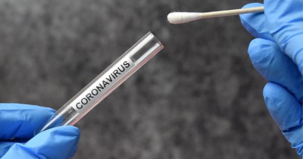Coronavirus test gloves