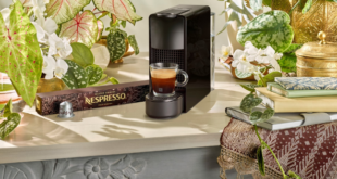 Making coffee Nespresso Sumatra