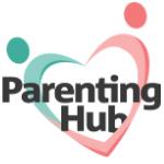 Parenting Hub Logo parenting magazine