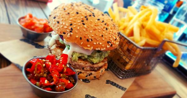 RocoMamas MYO Burger