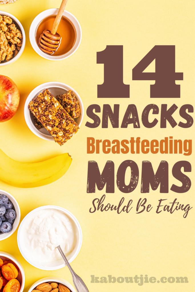 14 Snacks Breastfeeding Moms Should Be Eating