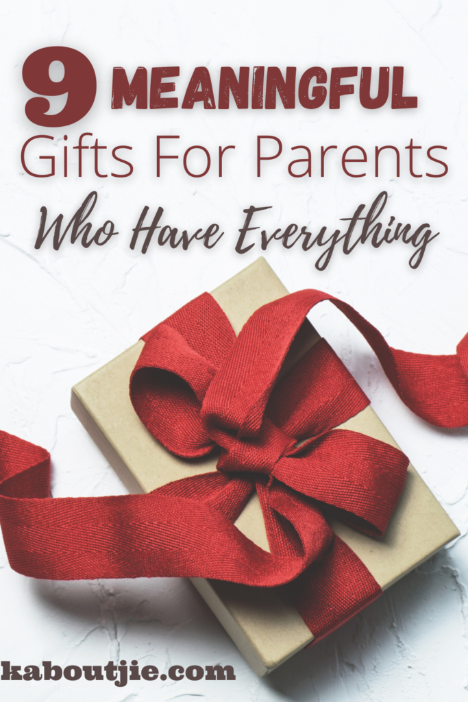 9 Meaningful Gifts For Parents Who Have Everything