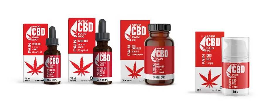 ADCO CBD pain
