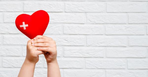health holding heart