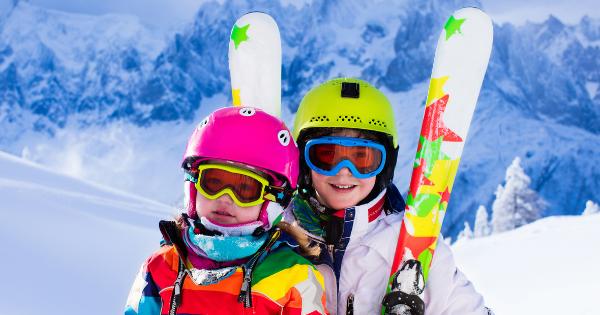 Kids snow ski
