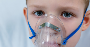 Child having difficulty breathing