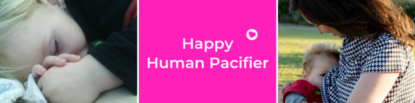Happy Human Pacifier Header