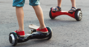 Kids Riding Hoverboards