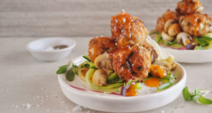 Mushroom and Chicken Meatballs