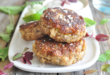 Mushroom and Fish Blended Fish Cakes