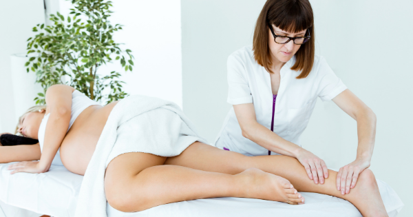 Pregnancy massage therapy