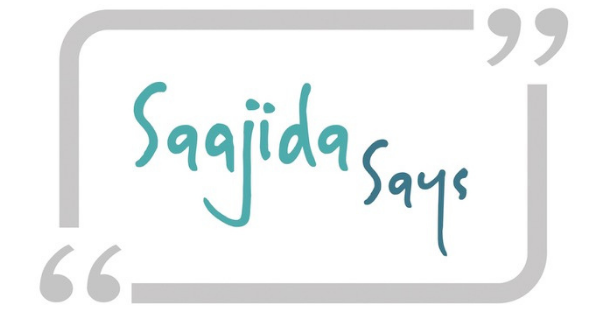 Saajida Says Blog logo