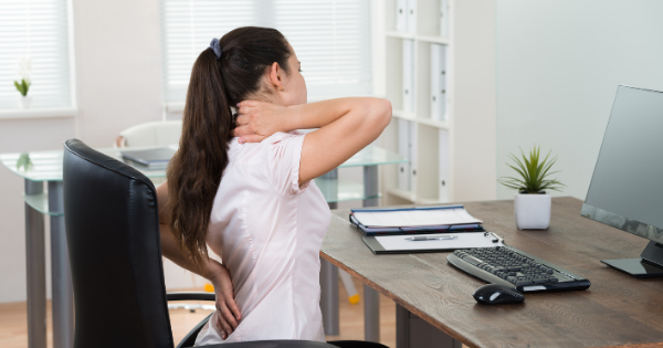 Posture while sitting