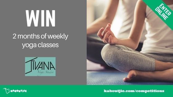 WIN 2 months weekly yoga classes
