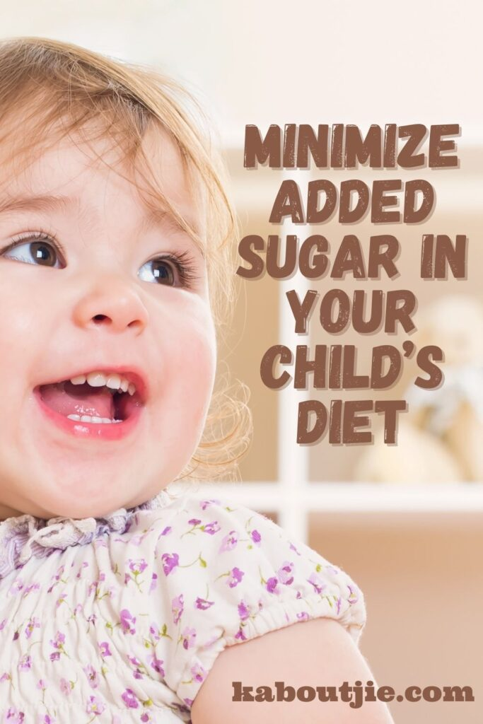 Minimize Added Sugar In Your Child's Diet