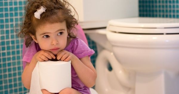 Child worried about potty