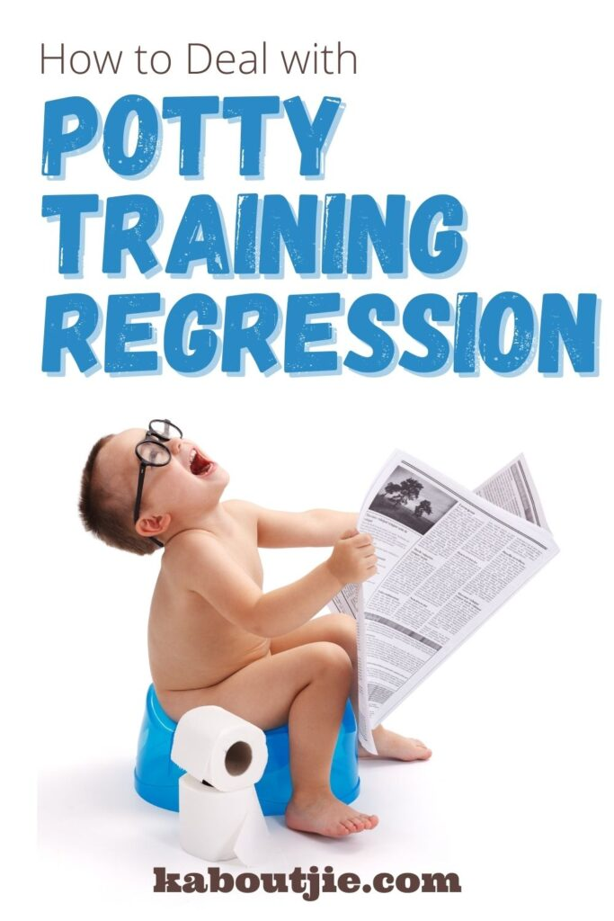 How To Deal With Potty Training Regression