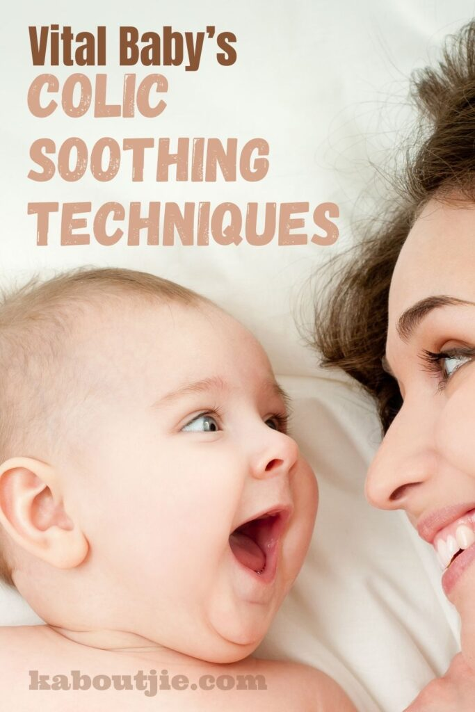 Vital Baby's Colic Soothing Techniques