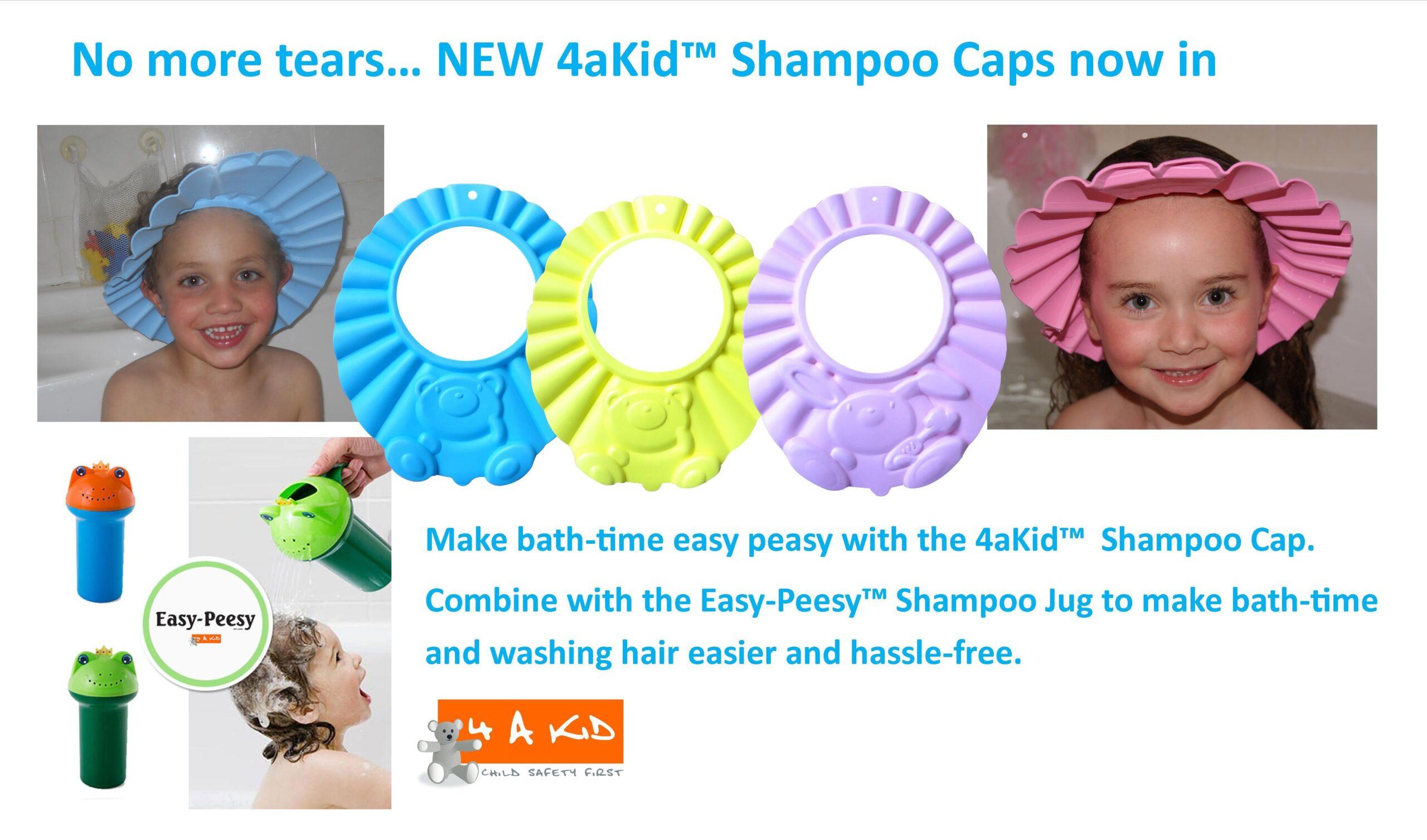 4 A Kid Shampoo Cap