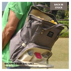 Baby Packpack Grey