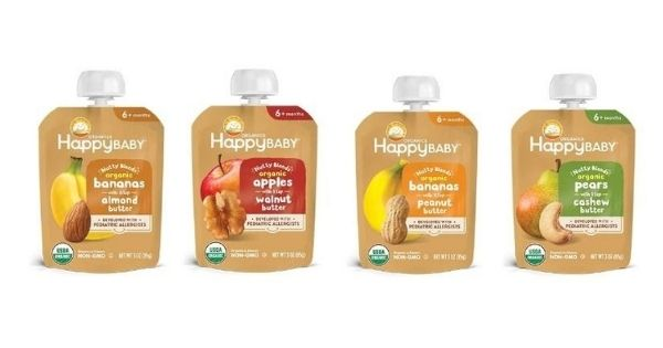 happy Family Organics Nutty Blends Range