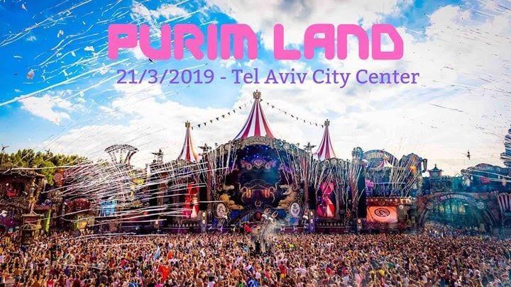 Purim Party Tel Aviv 2019